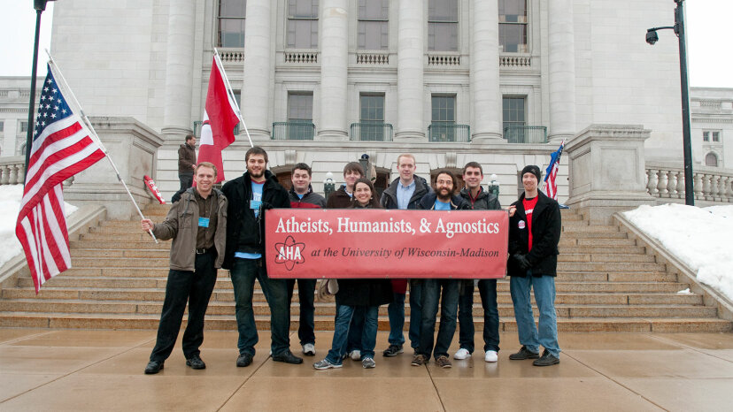 Freethought rally, Wisconsin