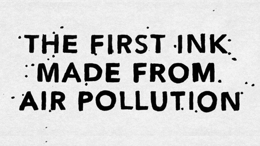 Luftverschmutzung in Tinte verwandeln