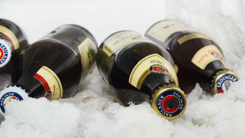 ¿Se congela el alcohol?