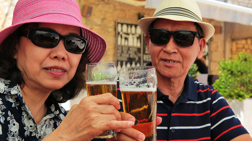 In a new study, seniors ages 65 and older demonstrated an astonishing 106.7 percent increase in alcohol use disorders during an 11-year span. susan.k./Getty Images