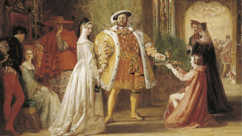 Anne Boelyn and King Henry VIII.