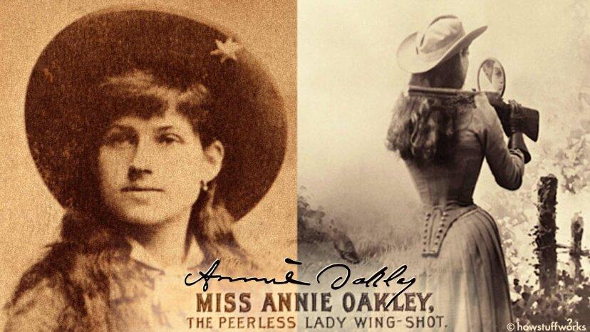 Por qué Annie Oakley era la novia puntera de Estados Unidos