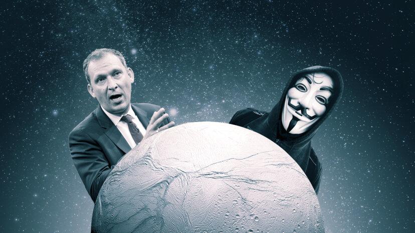 匿名の主張NASAはエイリアンの発見を発表しようとしています。悲しいことに
