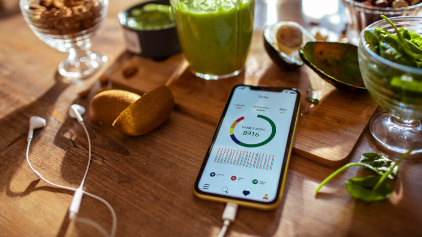 smartphone nutrition app