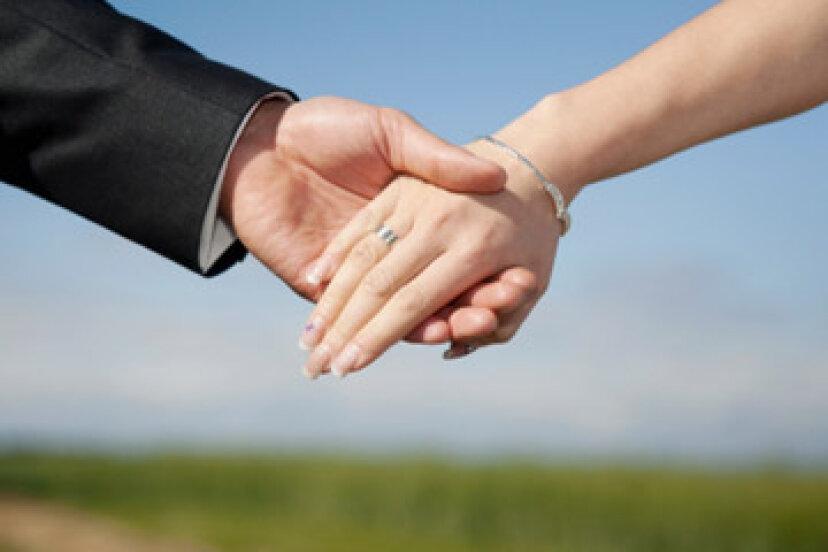 結婚の際に父親に手を頼む方法