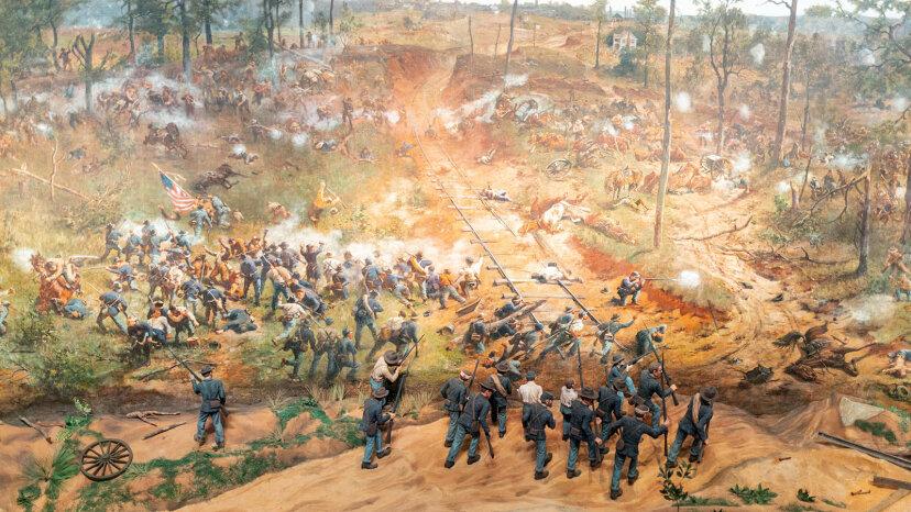 Battle of Atlanta cyclorama