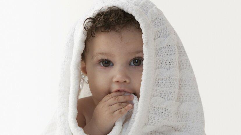 ベビー毛布の無料編みパターン