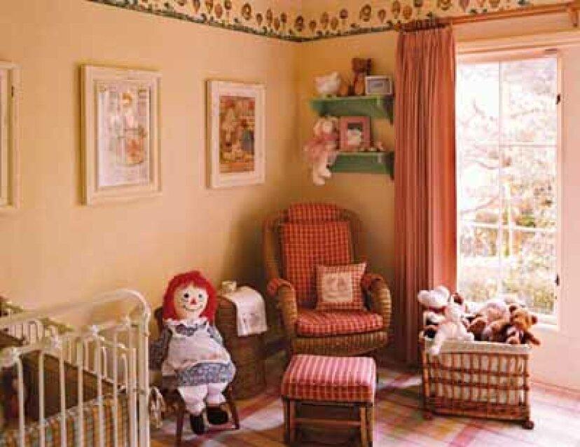 赤ちゃんの保育園の装飾のアイデア