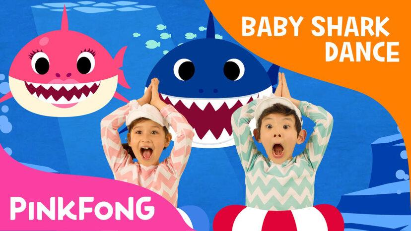 'Baby Shark' und andere Kiddie Tunes, die die Billboard Charts treffen