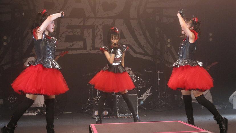 BABYMETAL: Drei japanische Mädchen machen Heavy Metal süß
