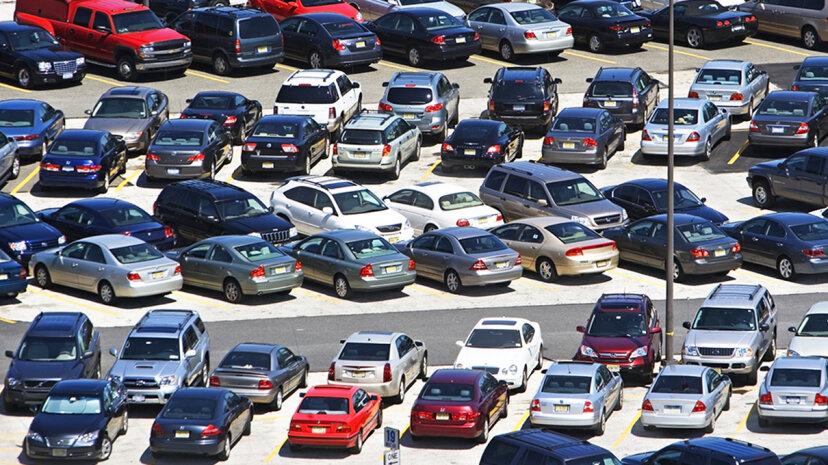 駐車スペースに戻る方がいいですか?