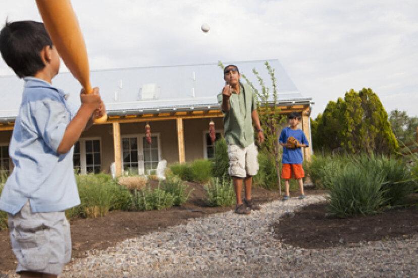 裏庭の野球のための5つの安全のヒント