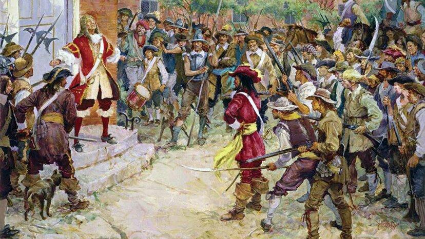 La rebelión de Bacon: la primera insurrección armada de Estados Unidos