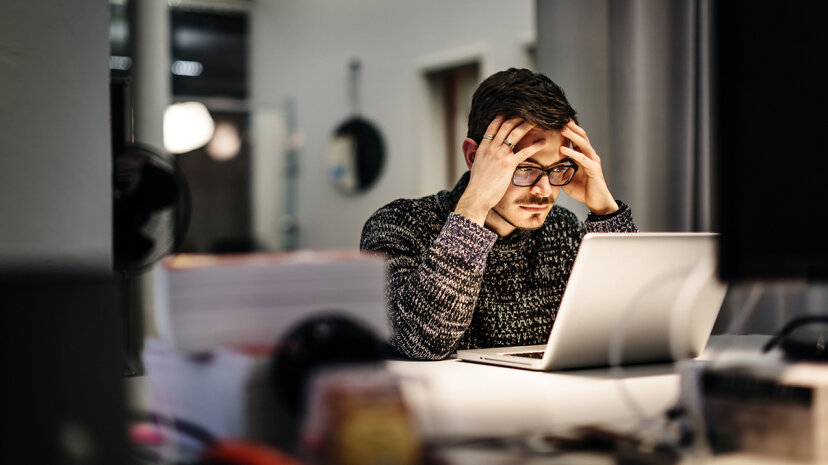 The type of job you get after being unemployed can have a significant impact on your health, a new study shows. Hinterhaus Productions/Getty Images
