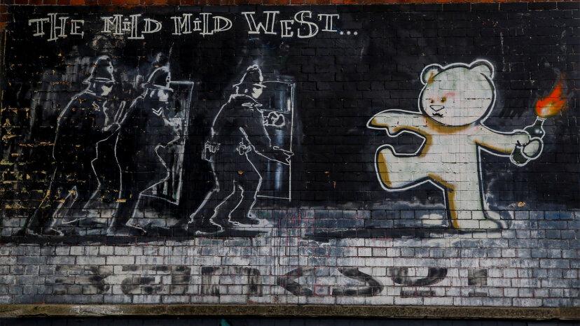 刺激し、楽しませ、警戒させるストリートアートの6つの作品