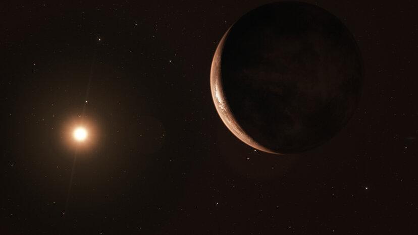 La estrella B de Barnard puede albergar una vida primitiva, algo así como Europa