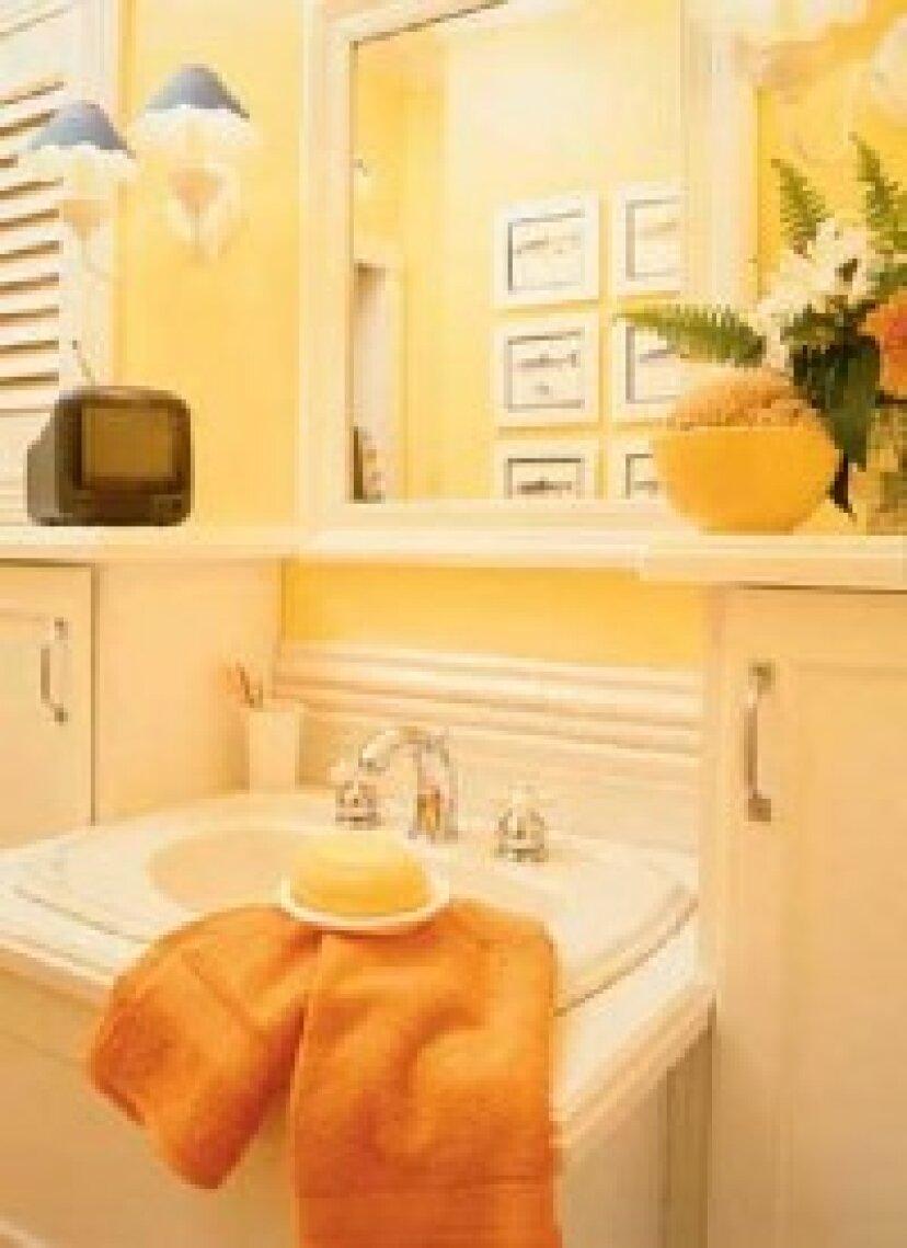浴室飾るアイデア