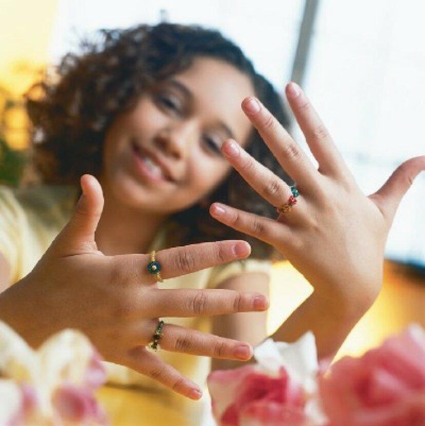 子供のためのビーズの指輪を作る方法