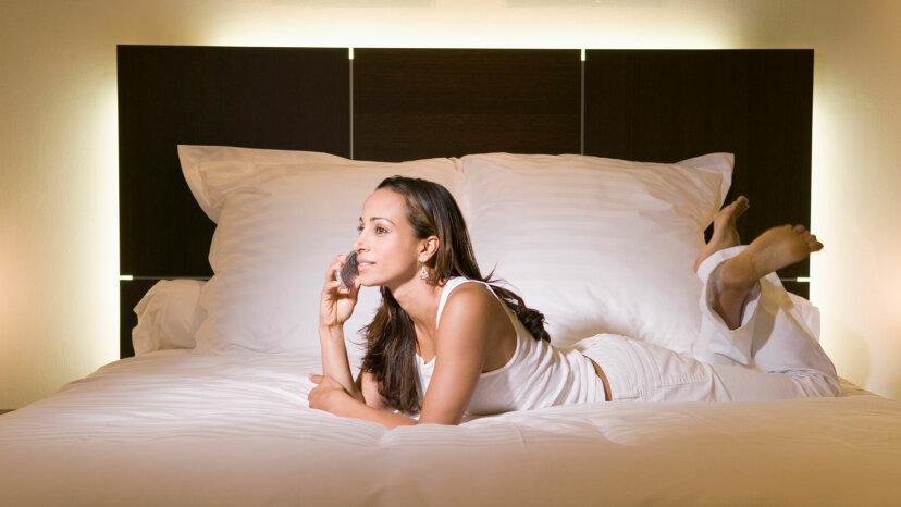 Los tamaños de las camas son cada vez más grandes