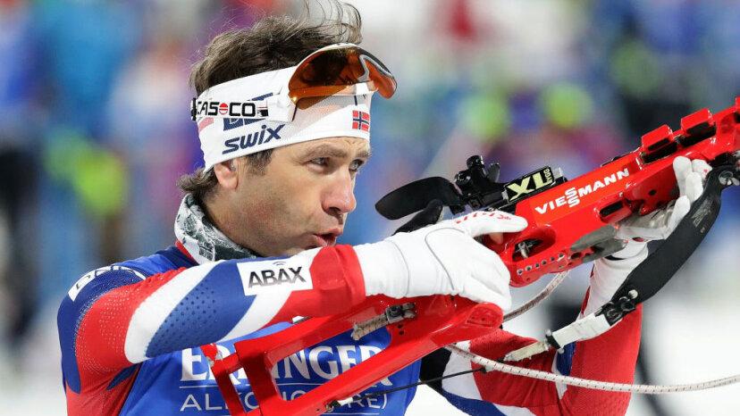 Ole Einar Bjoerndalen BMW IBU World Cup Biathlon 2017