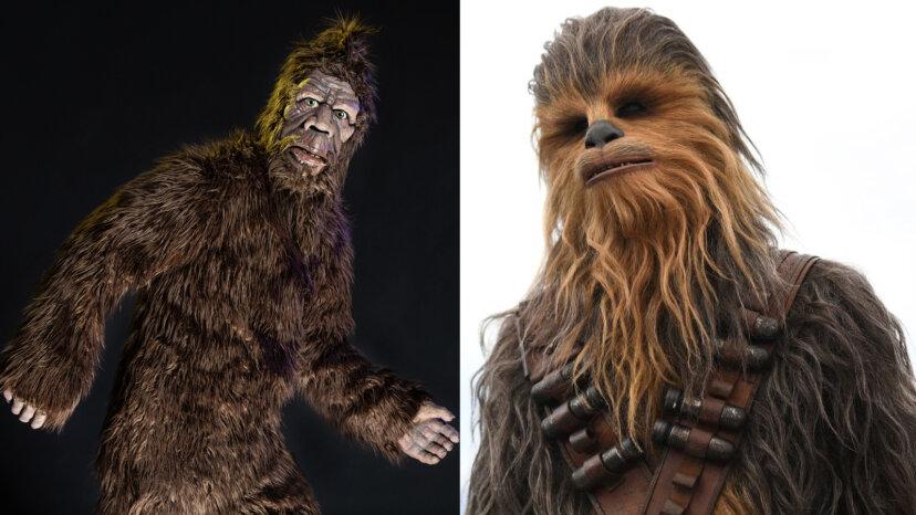 Bigfoot and Chewie