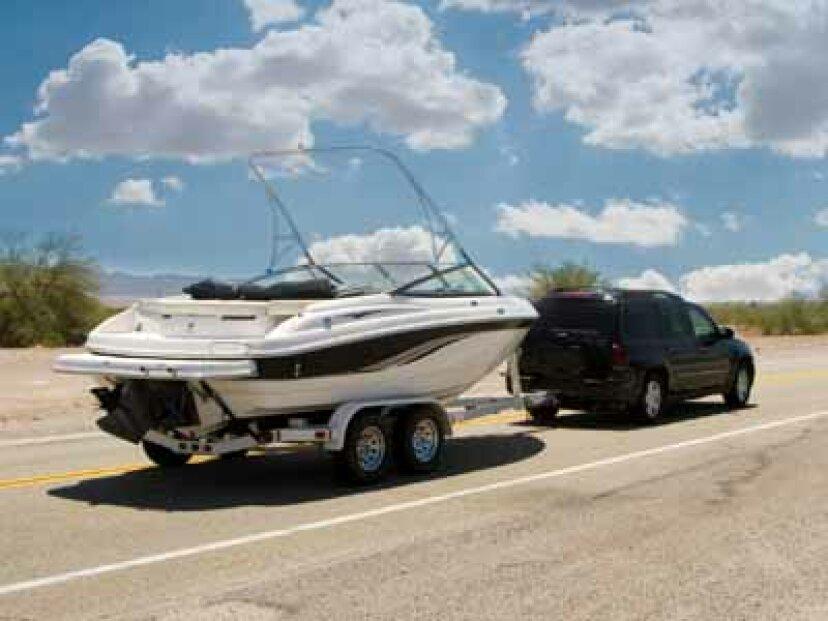 ボート曳航の安全性の仕組みの紹介