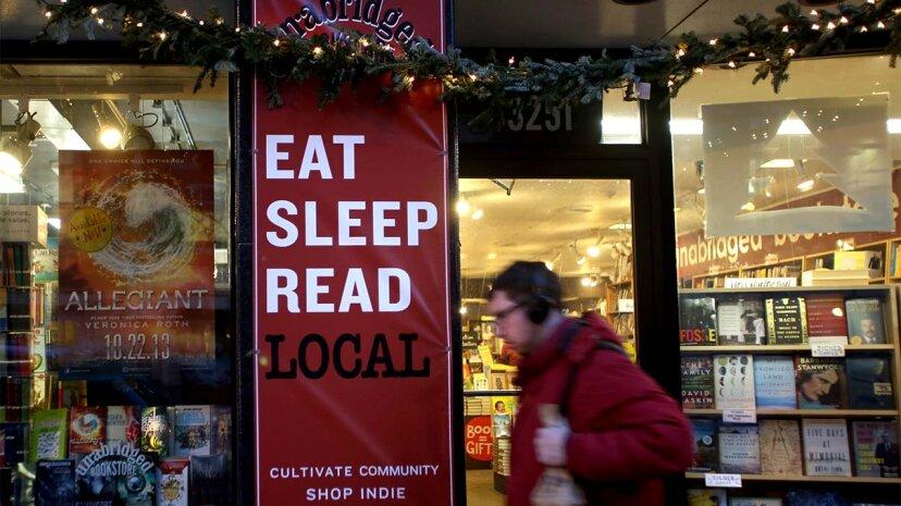 インディー書店はアマゾンに逆らいました。次は誰だ?