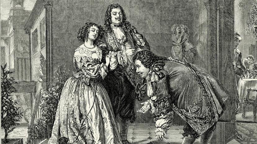 Le Bourgeois Gentilhomme illustration