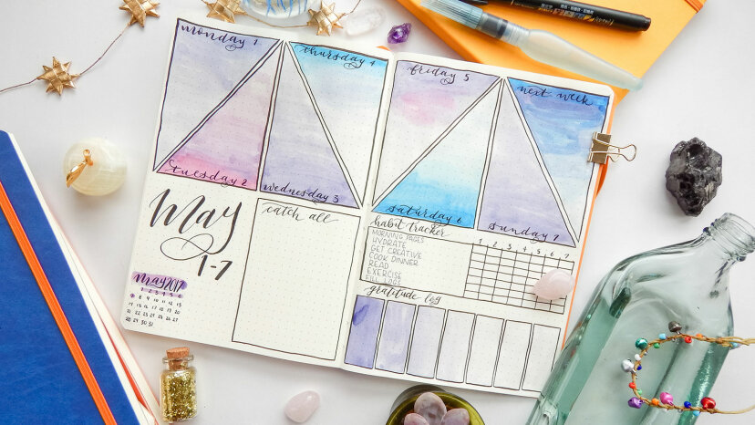 creative bullet journal