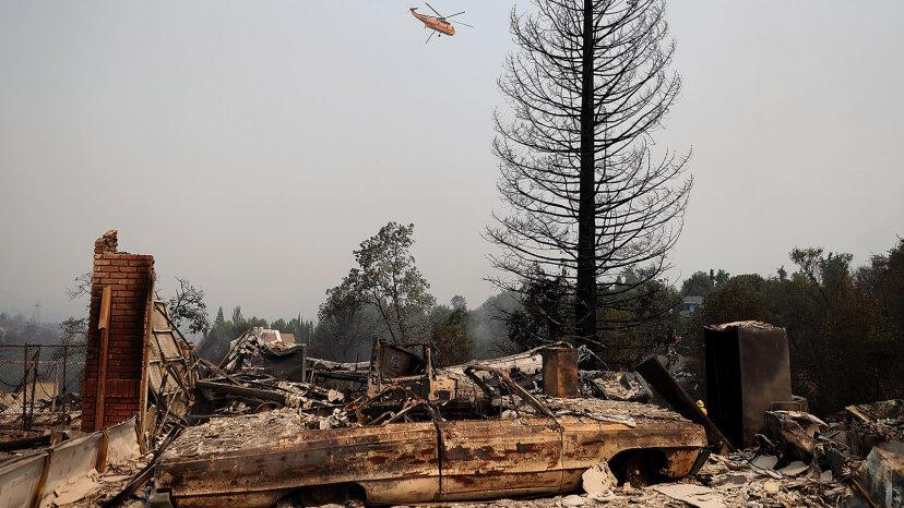 California Burning: Warum das Carr Wildfire ein Whopper ist