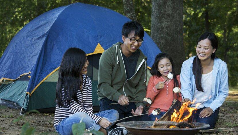 子供と一緒にキャンプする方法