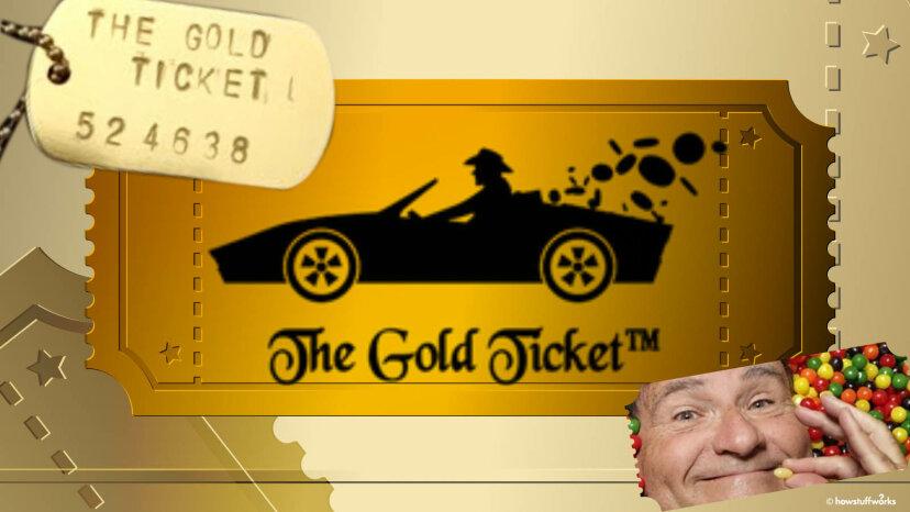 ゴールドチケットを見つけて、キャンディーファクトリーを獲得しましょう。まじ?実際に