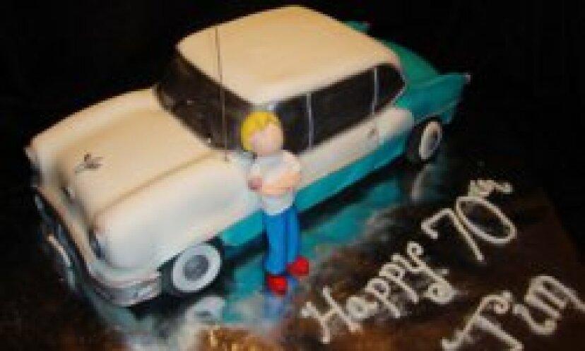 あなたの車のケーキ