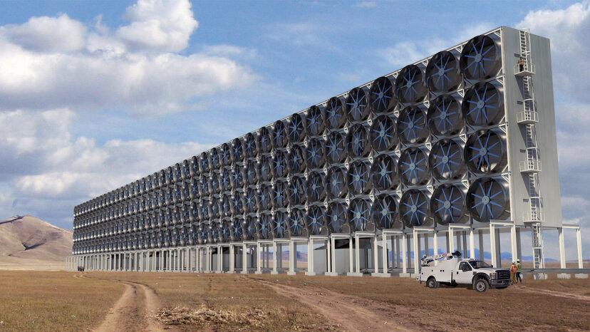 carbon capture fans