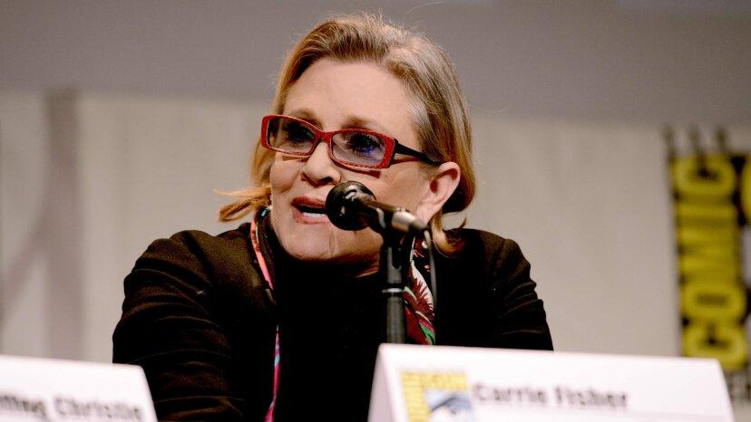 Die Besetzung von 'The Last Jedi' Erinnern Sie sich an Carrie Fisher