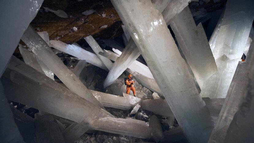La cueva de cristal gigante de México es hermosa pero mortal