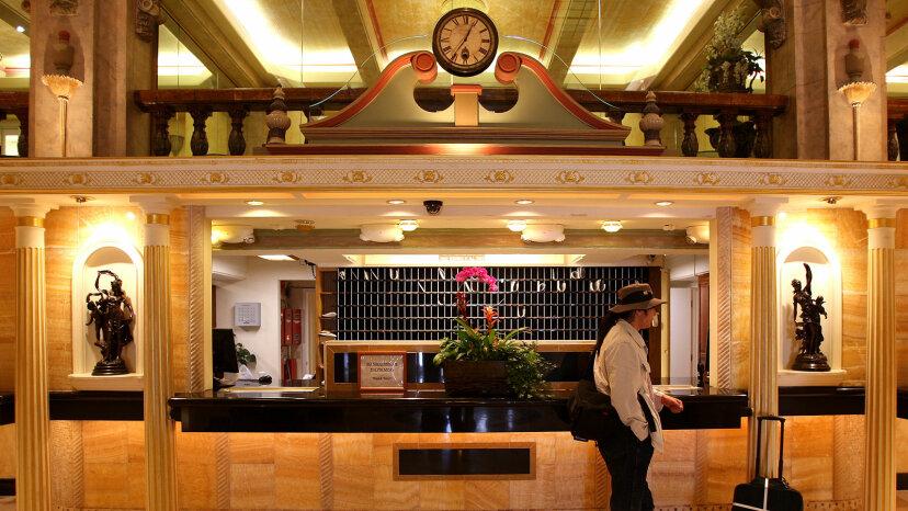 cecil hotel lobby