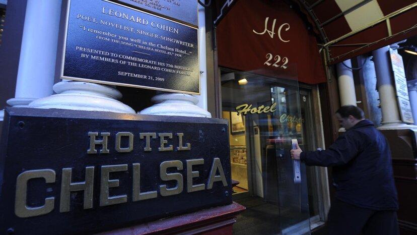 チェルシー ホテルは、アーティストと夢想家のためのニューヨークの伝説的なホテルです