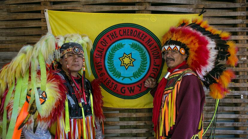Cherokee Indians, North Carolina