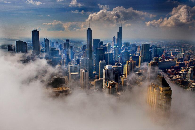 シカゴは米国で最も風の強い都市ですか?