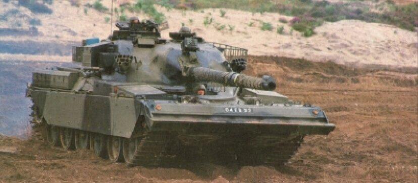 チーフタン主力戦車
