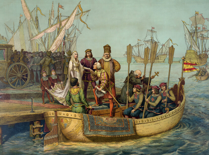 The Christopher Columbus Quiz Universal History Archive/Universal Images Group/Getty Images