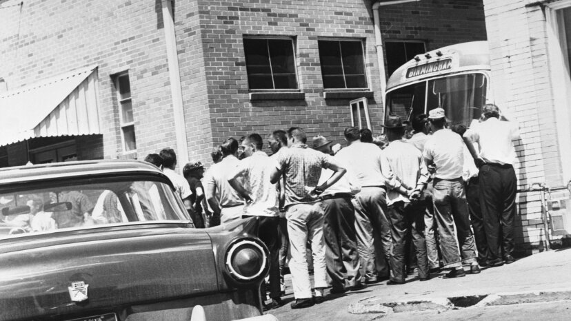 Freedom Riders, bus