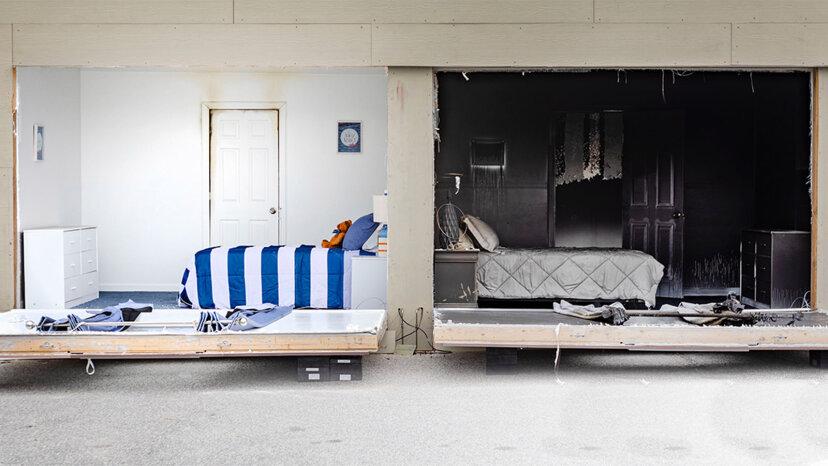 Wenn Sie nachts Ihre Schlafzimmertür schließen, kann dies Ihr Leben retten