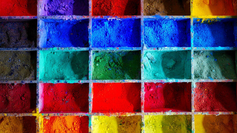 Los colores primarios son rojo, amarillo y azul, ¿verdad? Bueno no exactamente