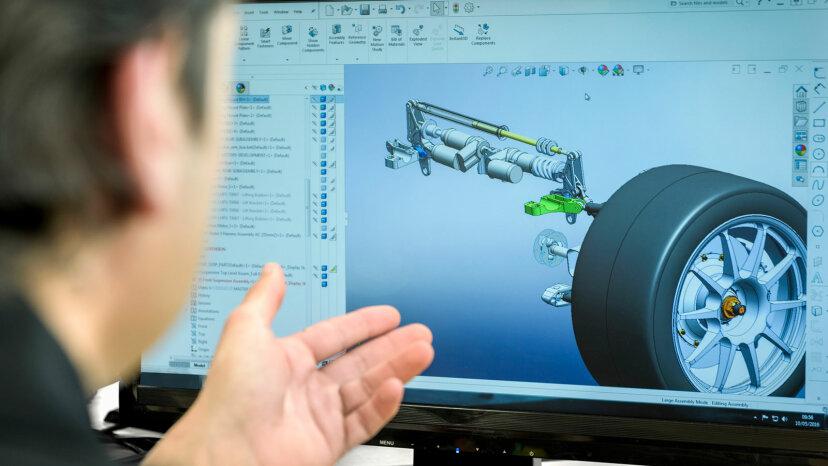 CAD screen
