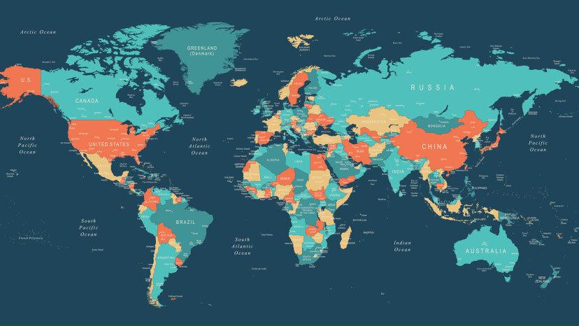 ¿Cuantos continentes hay? Depende a quien le preguntes