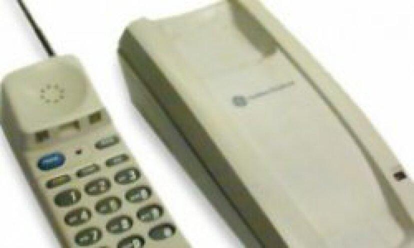 コードレス電話の内部