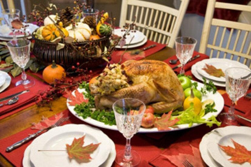 感謝祭の食事の平均費用はいくらですか?