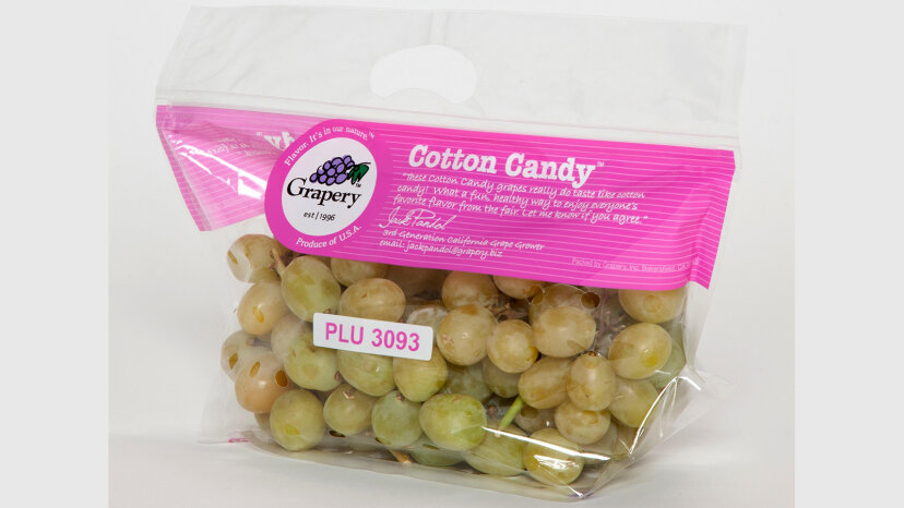 これらのブドウは本当に綿菓子のような味がします